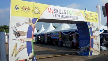 MySKILLS FAIR @ KARNIVAL KEMAHIRAN KEBANGSAAN JOHOR 2015