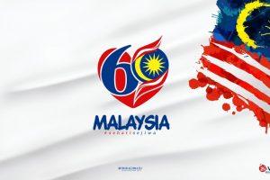 Kemerdekaan Malaysia  Ke 60  Sehati Sejiwa Logo   By Imahkudesain Dbe283s