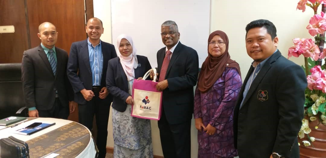 Pertemuan FeMAC Bersama Unit Perancangan Ekonomi Negeri Melaka (UPEN Melaka)