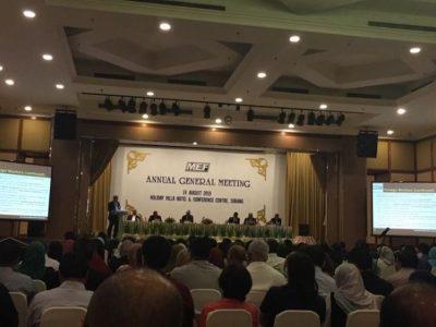Mesyuarat Agung Malaysian Employers Federation (MEF)