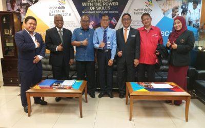 Kunjungan Hormat Dan Perbincangan Bersama Tn Hj Zaihan Bin Shukri , Ketua Pengarah Jabatan Pembangunan Kemahiran.