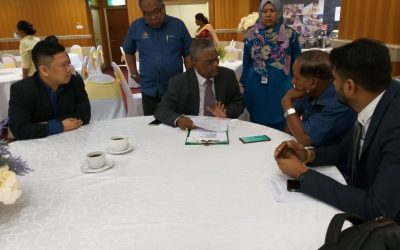 Pertemuan Bersama Yang Berhormat Menteri Sumber Manusia Pada Hari Bertemu Pelanggan, Kementerian Sumber Manusia